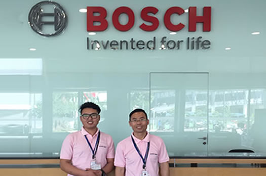 Visiting Bosch – for better cooperation