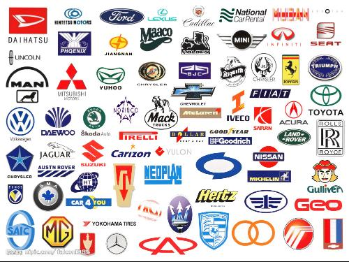 汽车品牌和标识